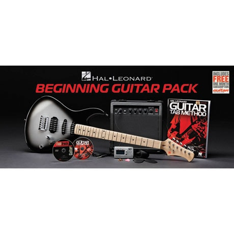 Hal Leonard Electric Guitar Kit Includes Guitar, Method Book and DVD