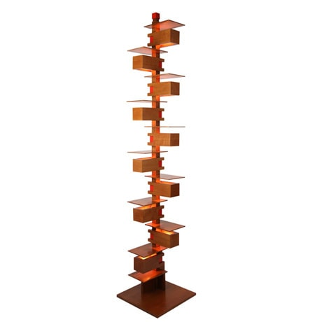 Frank Lloyd Wright® Taliesin 2 Floor Lamp in Cherry or Walnut