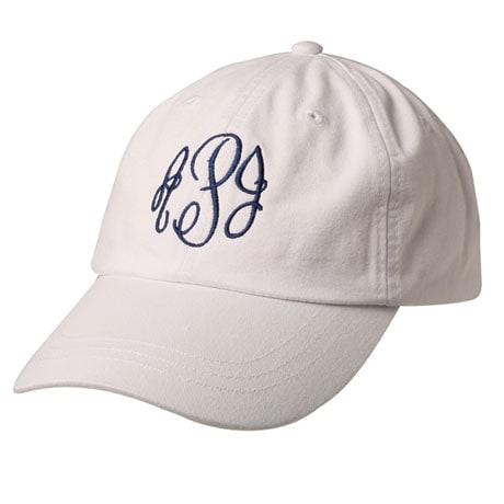 Monogrammed Baseball Cap