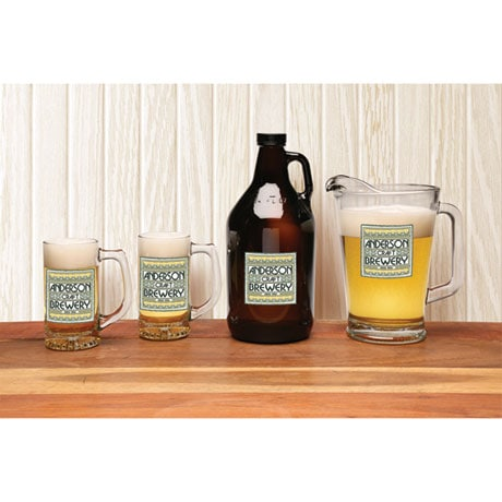 Personalized Craft Brewery - Growler
