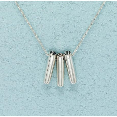Secret Message Necklaces - Heart