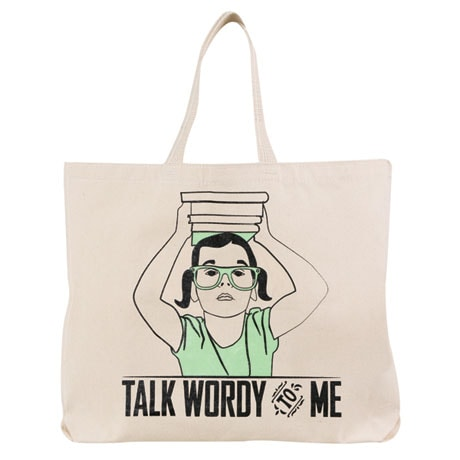 Talk Wordy to Me Tote