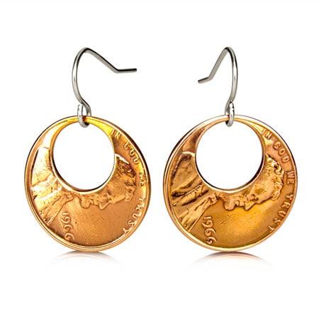 Eclipse Penny Earrings