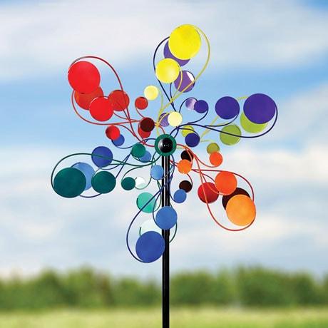Psychedelic Garden Spinner