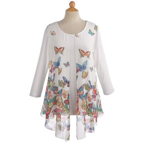 Flyaway Butterfly Tunic