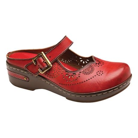 Aneria Mary Jane Clogs