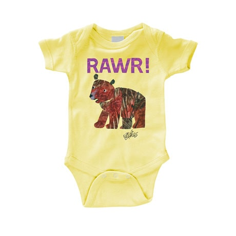 Eric Carle RAWR! Snapsuit