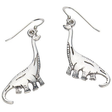 Dinosaur Earrings - Brontosaurus