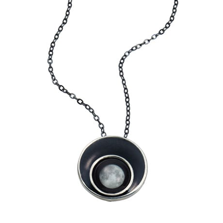 Custom Moonglow Orbit Necklace