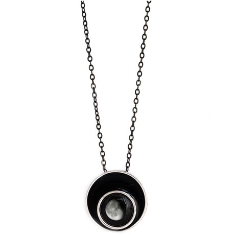 Full Moon Moonglow Orbit Necklace