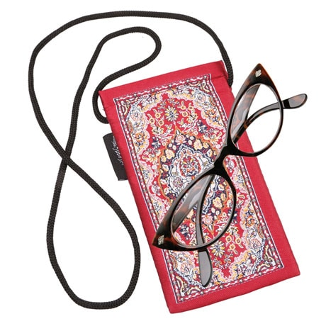 Persian Rug Eye Glass Case - 3 colors
