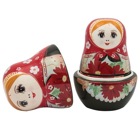 Russian Nesting Doll Measuring Cups