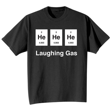 Laughing Gas Shirts