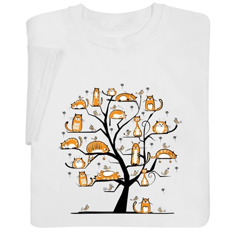 Cats Family Tree Shirts
