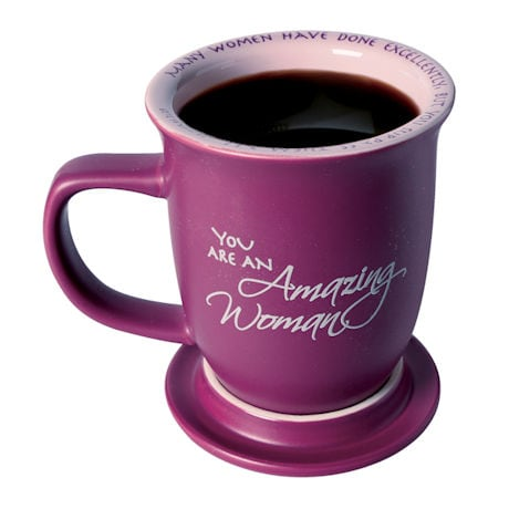 Proverbs 31:29 'Amazing Woman' Mug & Coaster Set
