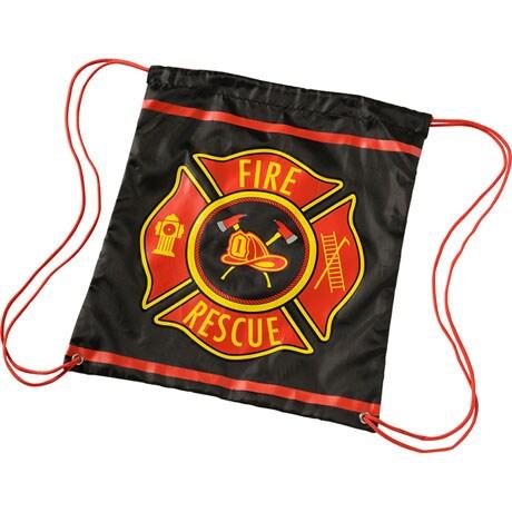 Firefighter Drawstring Back Pack