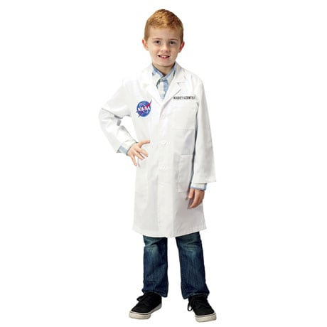Personalized Jr Rocket Scientist Lab Coat