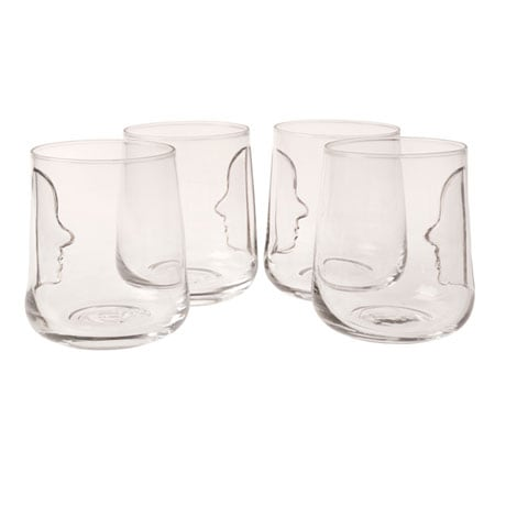 Silhouette Glasses Set