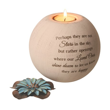 Stars in the Sky Memorial Tea Light Candle Holder