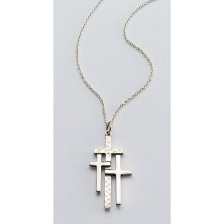 Calvary Crosses Necklace