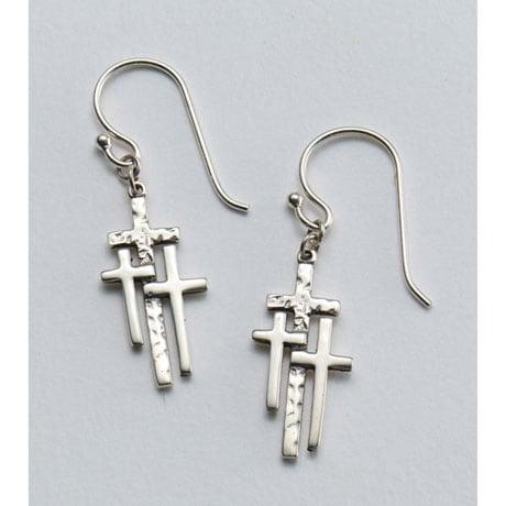 Calvary Crosses Earrings