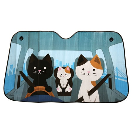 Comical Car Windshield Sun Shades