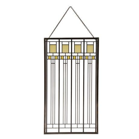 Frank Lloyd Wright® Art Glass Panels - Oak Park Playroom Window
