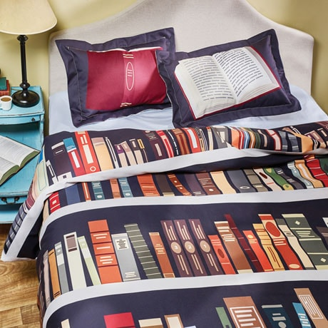 Book Lover's Duvet Cover
