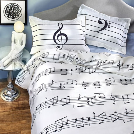 Sheet Music Duvet Cover