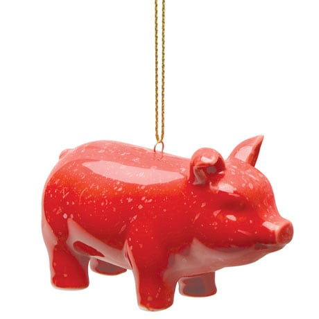Prosperity Pig Ornament