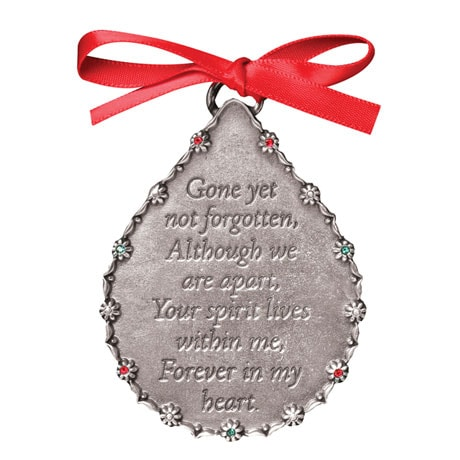 "Engraved ""Forever in My Heart"" Ornament"