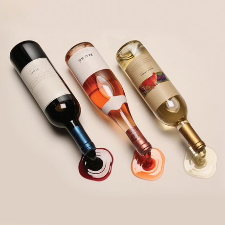 Spilled Wine Bottle Holders