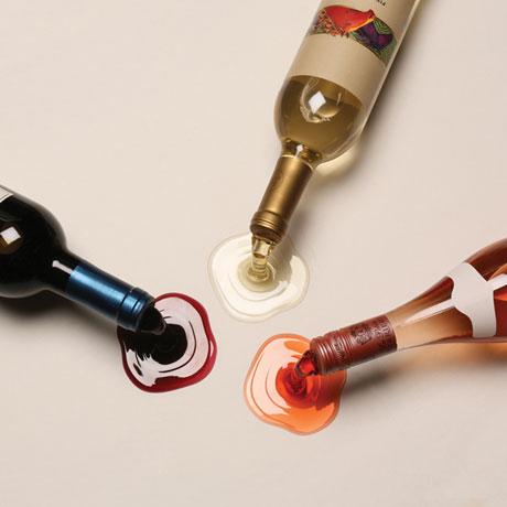 Spilled Wine Bottle Holders