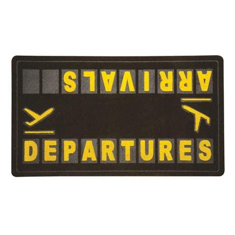 Departures And Arrivals Doormat At Signals Hx0866