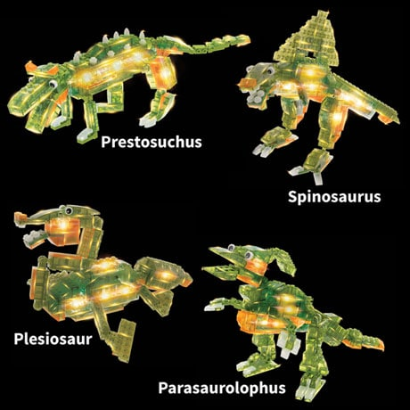 laser pegs dinosaur instructions