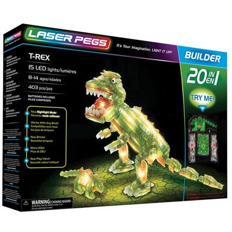 Dinosaur Laser Pegs Kit