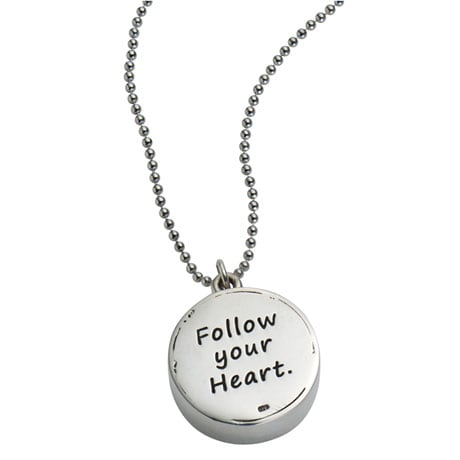 Follow Your Heart Compass Necklace