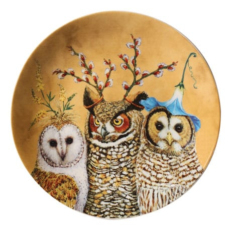 Woodsy and Wise Animal Plates - Set of 4