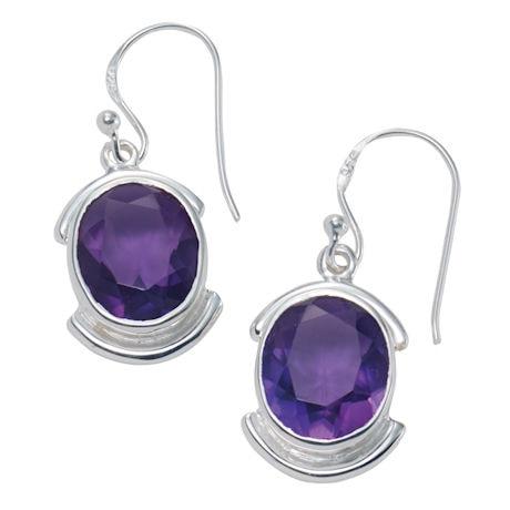 Grand Gemstone Earrings