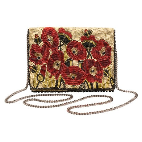 Mary Frances Poppies Handbag