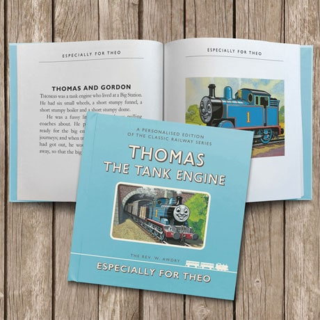 Personalized Thomas The Tank Engine Book