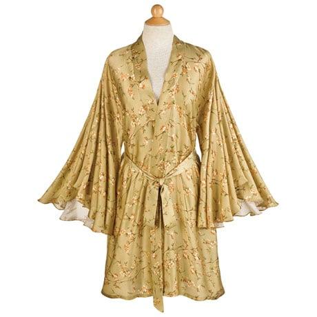 Flutter Sleeve Robe