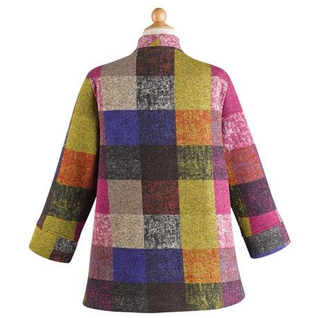 Colorblock Fleece Jacket