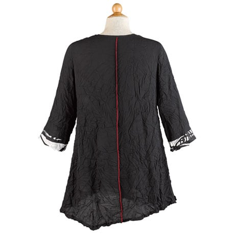 Tunic with Red Trim