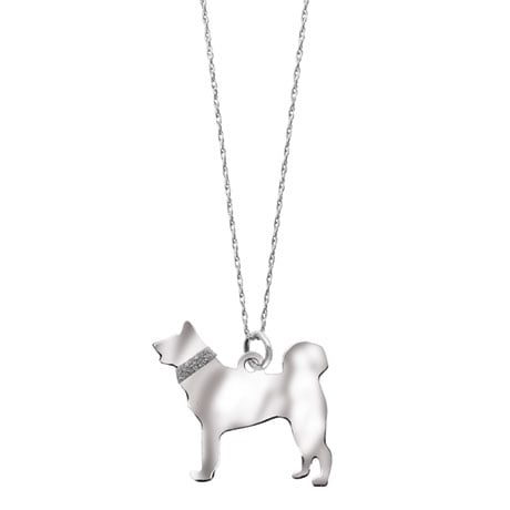 Sterling Silver Dog Breed Necklace