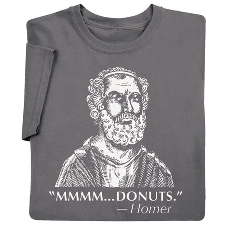 Famous Quotes T-shirt - Homer