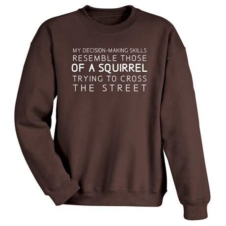 My Decision-Making Skills Shirt