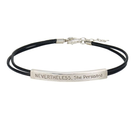Nevertheless, She Persisted Bracelet