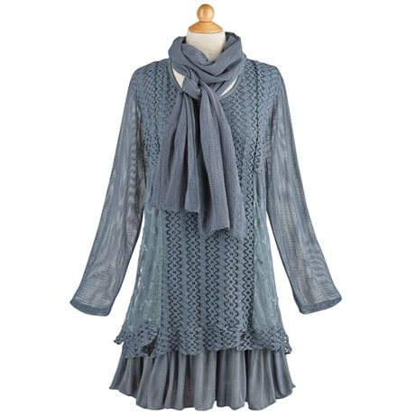 Juliet Tunic and Scarf