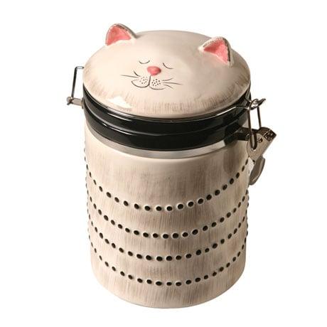 Ceramic Cat Cookie Jar